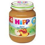 HIPP Био Бебешко пюре/праскови/4м+ 125 гр.